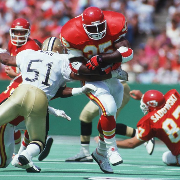 Christian Okoye Legendary Chiefs Running Back! - The ...