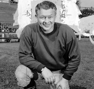 CURLY LAMBEAU - Curly Lambeau, former coach and founder Green Bay Packers.