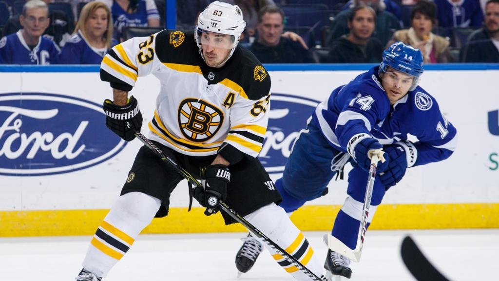 BRUINS 6, LIGHTNING 2: Boston strikes first in Tampa