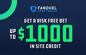 Fanduel bonus offer up to $1000 site credit