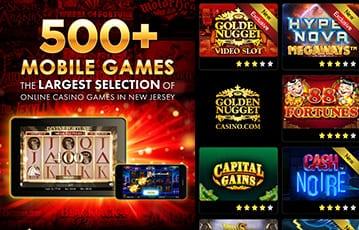 Golden Nugget casino mobile games