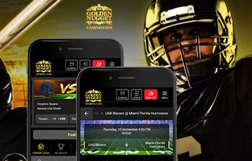 Golden Nugget sports mobile